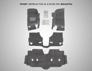 '07-Current JKU Front 4-pc BedRug Kit
