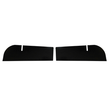'07-Current JK Rear Dual Tube Bumper Filler Plates