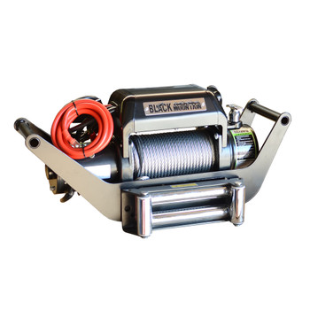 BLKMTN Multi-Mount Winch Combo