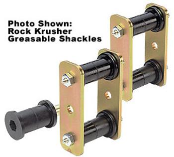 "'76-'86 CJ 3/4"" Lift Rear Greasable Shackle Kit"