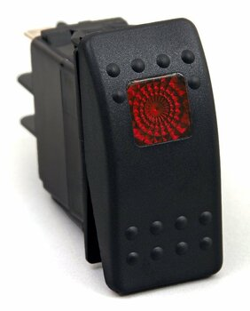 Rocker Switch (Red)