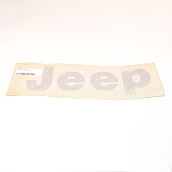 """""""JEEP"""" Tailgate Decal (Black)"""