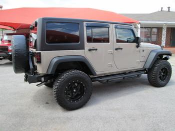 Sold 2016 Black Mountain Conversions JKU Jeep Wrangler Stock# 272145