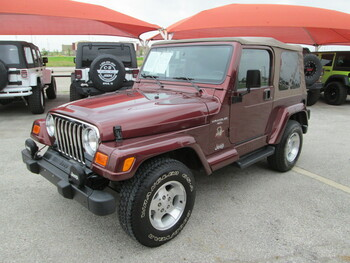 SOLD 2001 Jeep TJ Wrangler Sahara Edition Stock# 366810