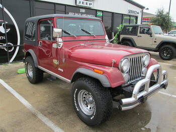 SOLD 1982 Jeep CJ-7 Stock# 043299