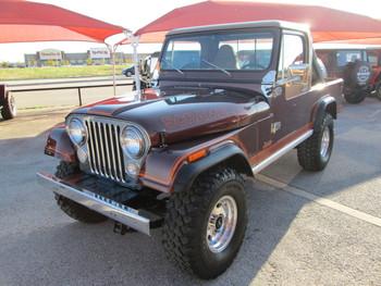 SOLD 1981 Jeep CJ-8 Scrambler Laredo Stock# 069448