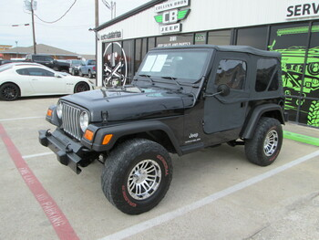 SOLD 2003 Jeep TJ Wrangler Stock# 303647