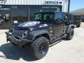 Sold 2017 Black Mountain Conversions Unlimited Jeep Wrangler Stock# 640536