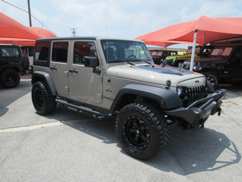 Sold 2017 Black Mountain Conversions Unlimited Jeep Wrangler Stock# 649412