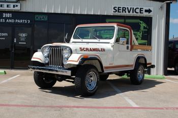 Sold 1981 Jeep CJ-8 SLR Scrambler Stock# 078267