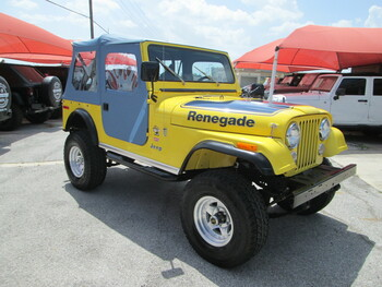 SOLD 1977 Jeep CJ-7 Renegade Super Jeep Levis Edition Stock# 073539