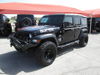 SOLD STAGE I 2018 JLU Wrangler Sport Edition Black Mountain Stock# 134495