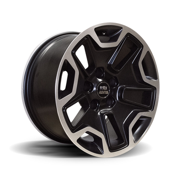 "RUBI-9 MATTE BLACK 17X9"" ALLOY WHEEL"