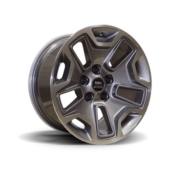 "RUBI-9 GUN METAL 17X9"" ALLOY WHEEL"