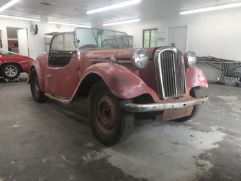 SOLD  1951 Singer Roadster project Stock# D2062W