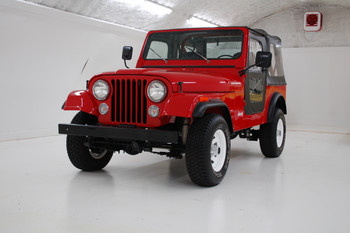 SOLD 1986 Jeep CJ-7 Sebring Red  Stock# 039158