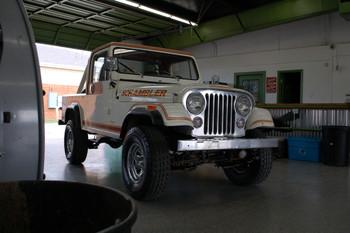 SOLD 1982 CJ-8 Laredo Scrambler SLR Stock# 023836