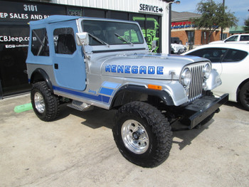SOLD 1984 Jeep CJ-7 Renegade Edition Stock# 013966