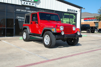 SOLD 2005 Jeep TJ Red Rubicon Stock# 311577