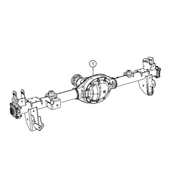 Used Jeep Axle Assembly – CBJeep