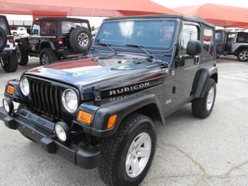 SOLD 2006 Jeep Wrangler TJ Rubicon Stock# 732281