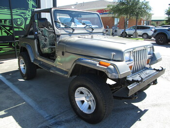 SOLD 1989 Jeep Wrangler YJ Sahara Edition Stock# 119682