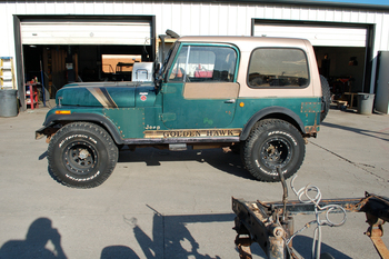 SOLD  1980 CJ-7 Golden Hawk Stock# 721389