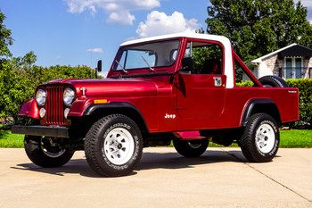 SOLD 1984 Jeep CJ-8 Scrambler Stock# 002470