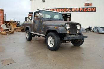 SOLD 1982 Jeep CJ-8 Scrambler SR Edition Stock# 004024