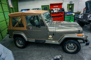 SOLD 1988 Jeep Wrangler YJ Sahara Edition Stock# 526808