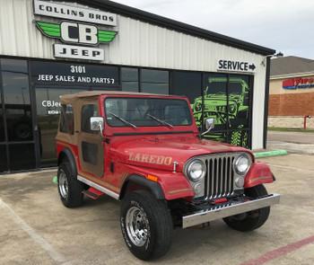 SOLD 1986 Jeep CJ-7 Laredo Edition Pre-shop Stock# 053897