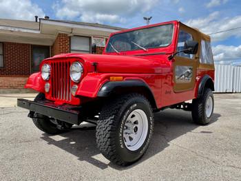 SOLD 1986 Jeep CJ-7 Stock# 032912