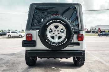 Sold 2006 Silver Jeep Wrangler LJ Stock# 721399