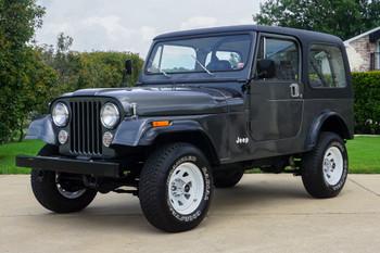 SOLD 1986 Jeep CJ-7 Stock# 088641