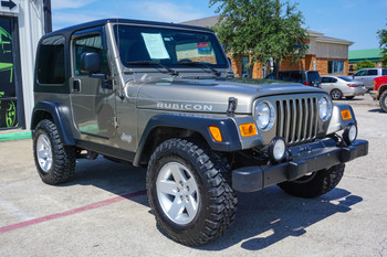 2004 Jeep RUBICON TJ Wrangler Collectible low mileage Stock# 761981 *SALE PENDING*
