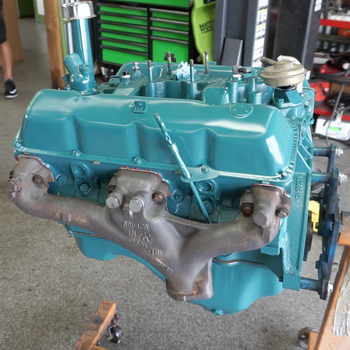 '73-'81 Motor Coatings Engine Enamel (AMC Engine Blue)