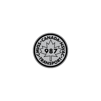 987 Canada Transport Decal (Black/Gray)
