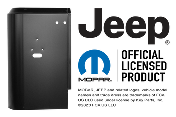 76-86 Jeep CJ7 Tail Light Panel (Left / Driver's Side) (0479-135)
