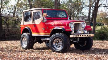 SOLD CJ7 Laredo- Chevy 383