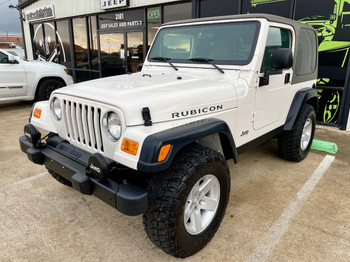 2004 TJ Wrangler Rubicon Edition Low Miles! Stock# 710961