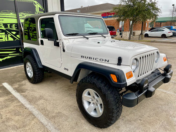 SOLD  2004 TJ Wrangler Rubicon Edition Low Miles! Stock# 710961
