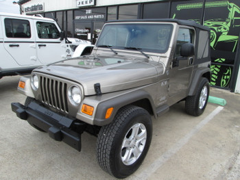 SOLD 2006 Jeep Wrangler TJ X Edition Stock# 734592