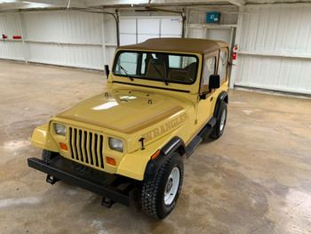 1988 Jeep YJ Wrangler Super Clean low Mileage Stock# 508502