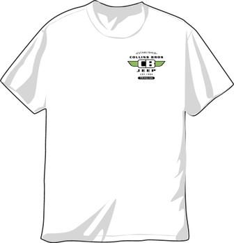 CBJeep Original Short Sleeve T-Shirt (White) (CBTS-0-W-SS)