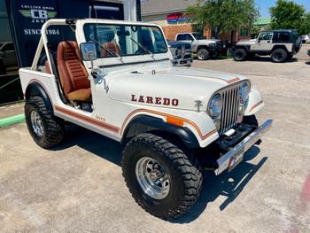 SOLD 1983 Jeep CJ-7 Laredo #046669