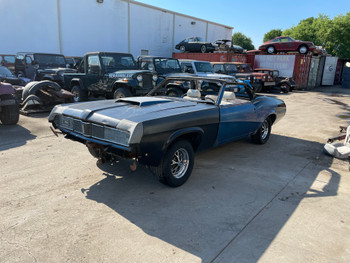 Holy Grail Wholesale Wednesday 1969 Mercury Cougar XR-7 Convertible Stock# 531190