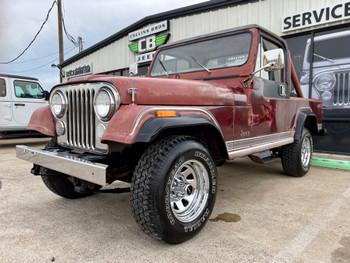 1981 Jeep CJ-8 Scrambler #079430