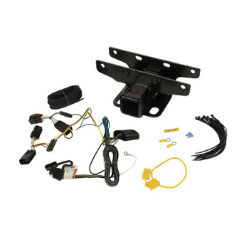 Trailer Hitch Kit w/ Wiring Harness for 18-20 Jeep Wrangler JL