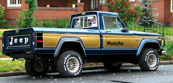 '76-'78 Jeep Honcho Truck Decal Kit