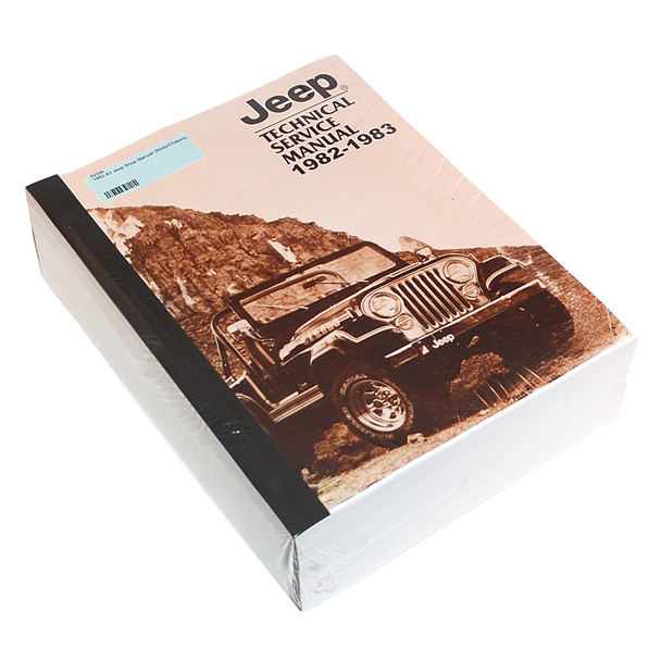 '82-'83 Jeep Service Manual (Body/Chassis)